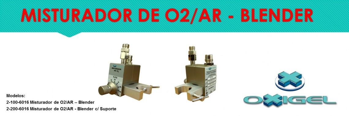 Misturador O2/AR - Blender