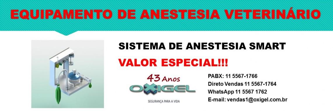 Sistema de Anestesia Veterinário Smart